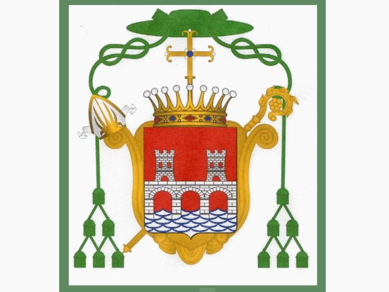 Les armoiries des évêques de Bazas